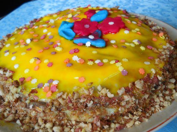Снимка 1 от рецепта за Торта `Пролетно настроение`