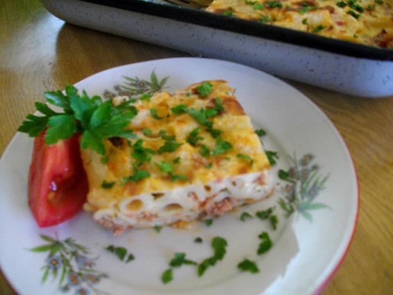 Снимка 1 от рецепта за Мусака от макарони с кайма
