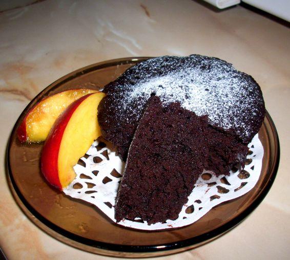 Снимка 1 от рецепта за Постно шоколадово кексче за 1 минута