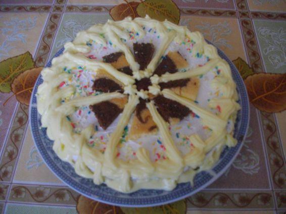Снимка 1 от рецепта за Бърз сладкиш