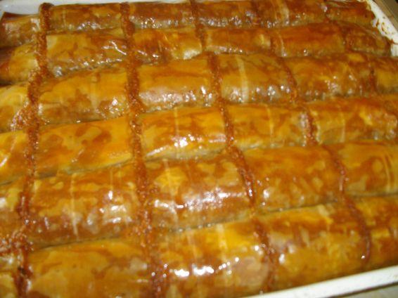 Снимка 1 от рецепта за Баклавички с локум