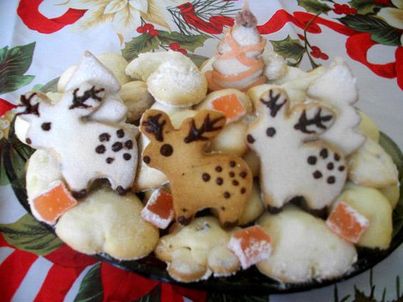 Снимка 1 от рецепта за Коледна приказка с локумки