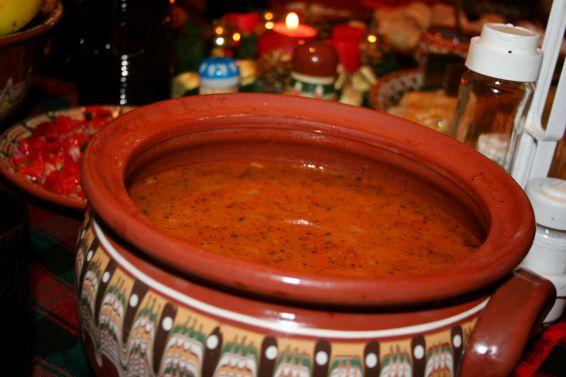 Снимка 1 от рецепта за Сух боб яхния
