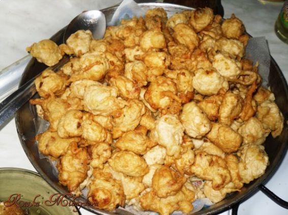 Снимка 1 от рецепта за Панирани кашкавалчета с паста `Патафри`