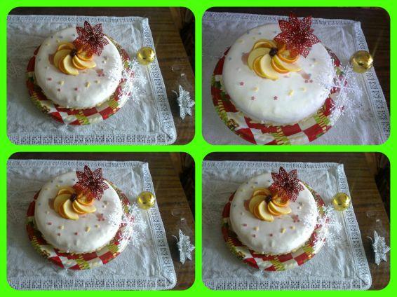 Снимка 1 от рецепта за Коледна торта с фондан