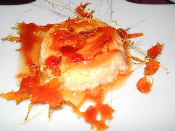 Снимка 1 от рецепта за Крем карамел с карамелена декорация