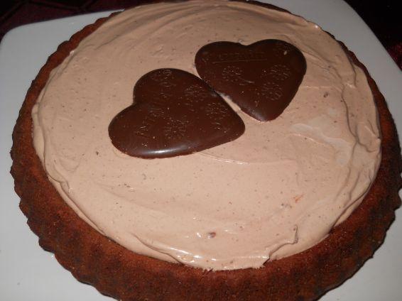 Снимка 1 от рецепта за Шоколадов пай
