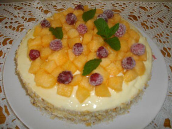 Снимка 1 от рецепта за Пъпешова торта
