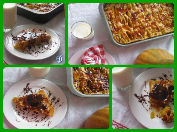 Снимка 1 от рецепта за Тиквено изкушение с карамел