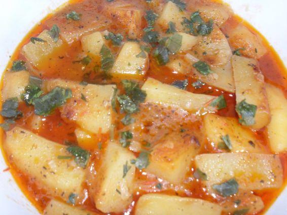 Снимка 1 от рецепта за Картофена яхния