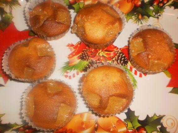 Снимка 1 от рецепта за Мъфини с локум и стафиди