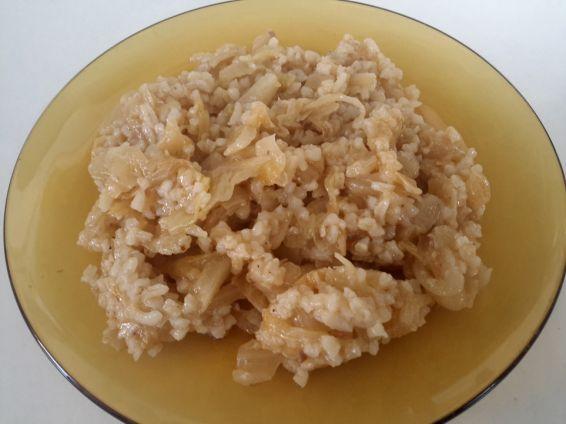 Снимка 1 от рецепта за Кисело зеле с ориз