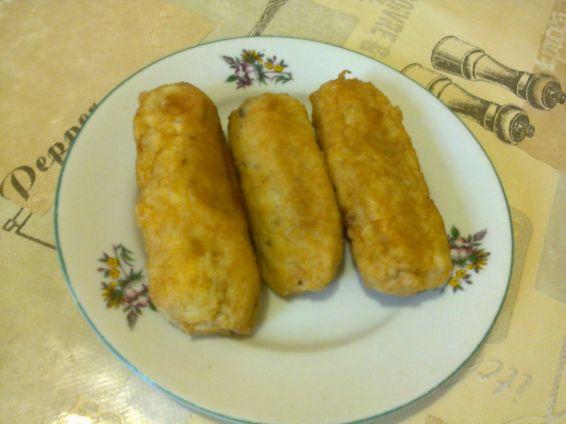 Снимка 1 от рецепта за Рибено - картофени крокети