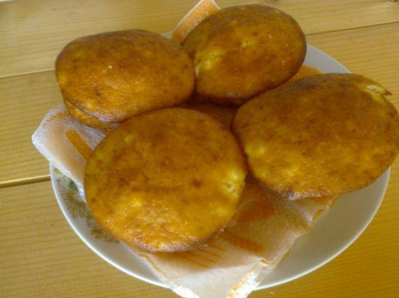 Снимка 1 от рецепта за Мъфини с царевично и пшенично брашно