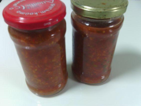Снимка 1 от рецепта за Заготовка за готвене на ядене в буркани