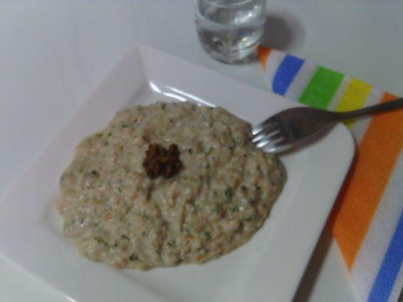 Снимка 1 от рецепта за Разядка със сухари и зехтин