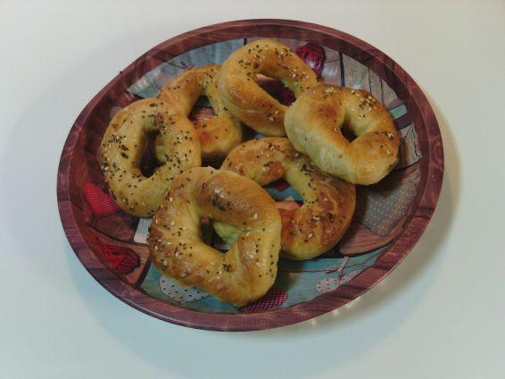 Снимка 1 от рецепта за Гевречета със сусам на фурна