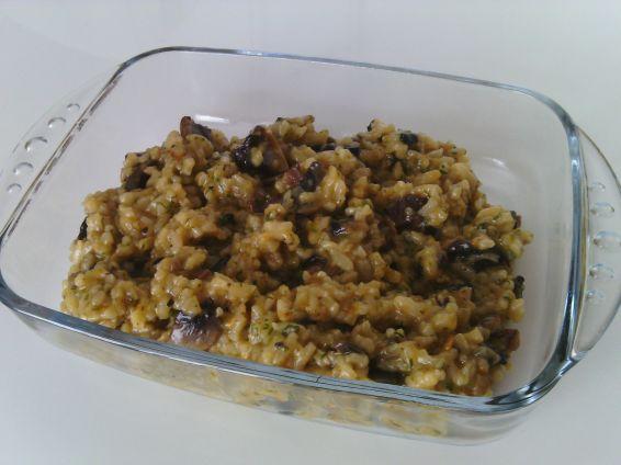 Снимка 1 от рецепта за Ориз с моркови, копър и печурки