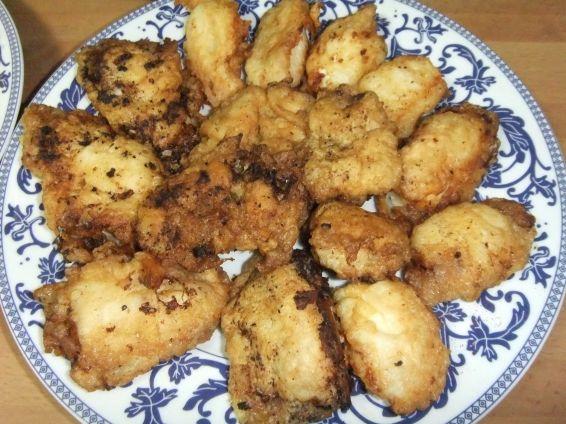 Снимка 1 от рецепта за Панирана бяла риба `Cola de Rape`