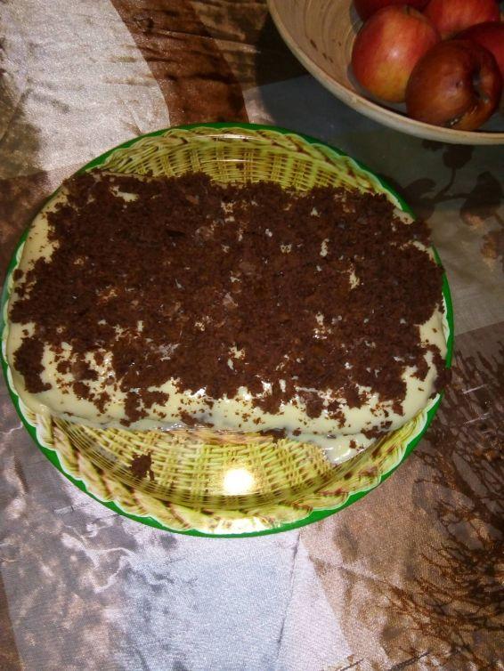 Снимка 1 от рецепта за Надупчен кекс