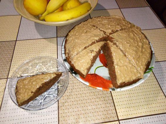Снимка 1 от рецепта за Фъч с течен шоколад