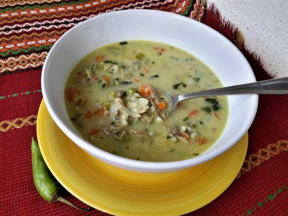 Снимка 1 от рецепта за Вкусна супа със зеленчуци и свинско