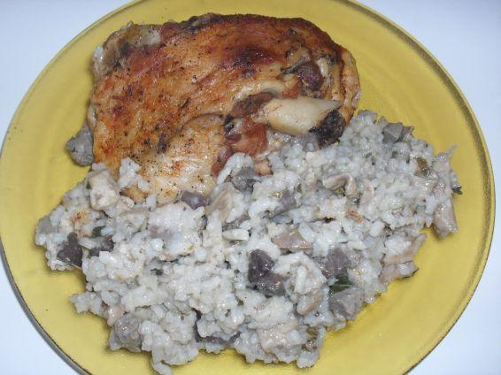Снимка 3 от рецепта за Агнешко с ориз и зелен лук