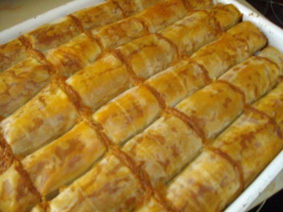 Снимка 2 от рецепта за Баклавички с локум