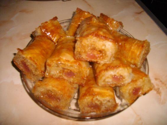 Снимка 4 от рецепта за Баклавички с локум