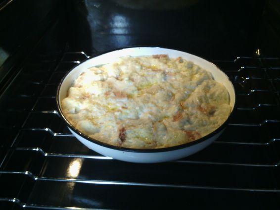 Снимка 2 от рецепта за Баница от хапки хляб