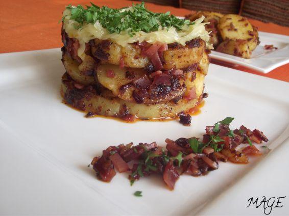 Снимка 2 от рецепта за Брат картофи с кашкавал