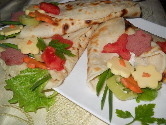 Снимка 3 от рецепта за `Букетчета` от палачинки