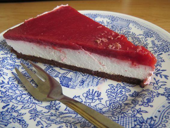 Снимка 7 от рецепта за Чийзкейк със замразени ягоди
