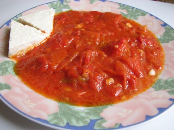 Снимка 2 от рецепта за Чушки с доматен сос