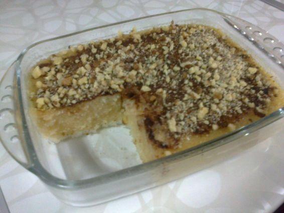 Снимка 2 от рецепта за Десерт с грис