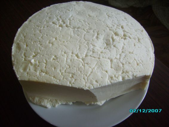 Снимка 3 от рецепта за Домашен кашкавал