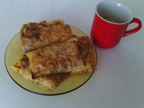 Снимка 4 от рецепта за Домашноточен тиквеник с орехи