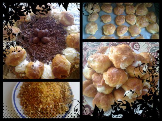 Снимка 2 от рецепта за Еклерова торта