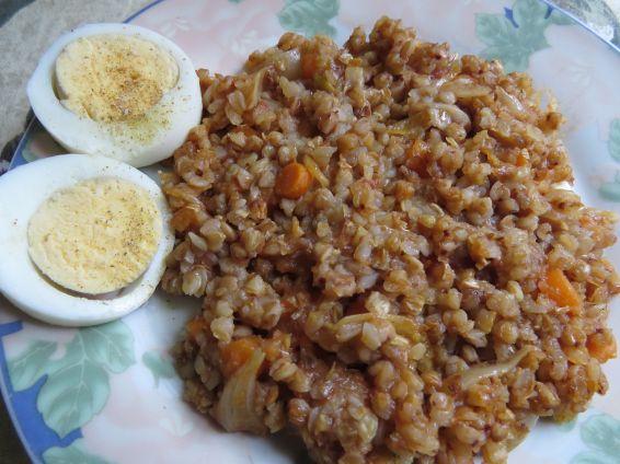 Снимка 1 от рецепта за Елда яхния