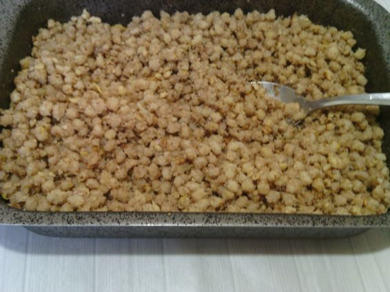 Снимка 3 от рецепта за Грухана пшеница с лимон, канела и орехи