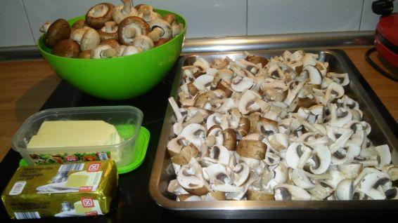 Снимка 3 от рецепта за Гъби на фурна