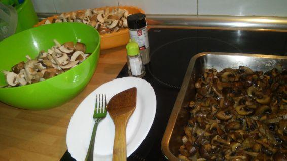 Снимка 4 от рецепта за Гъби на фурна