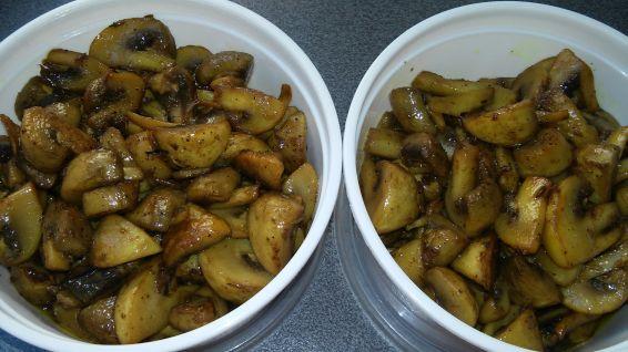 Снимка 7 от рецепта за Гъби с масло на фурна