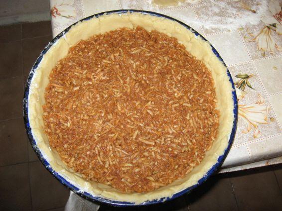 Снимка 2 от рецепта за Ябълков пай - II вариант