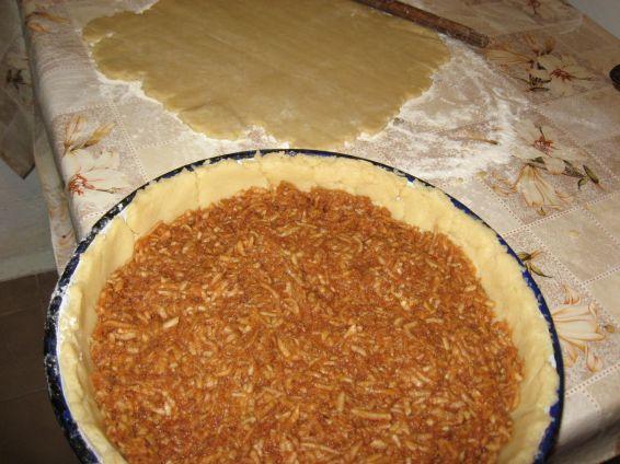 Снимка 3 от рецепта за Ябълков пай - II вариант