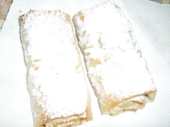 Снимка 5 от рецепта за Ябълков щрудел с готови кори
