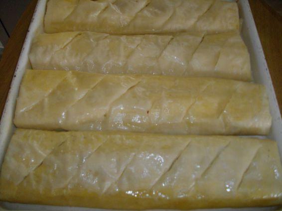 Снимка 2 от рецепта за Ябълков щрудел с лешници