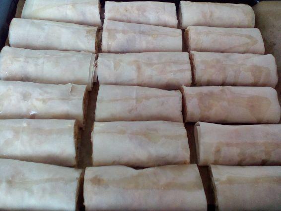 Снимка 5 от рецепта за Ябълков щрудел