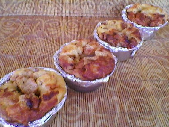 Снимка 3 от рецепта за Ягодови кейкчета с козунак