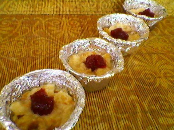 Снимка 5 от рецепта за Ягодови кейкчета с козунак